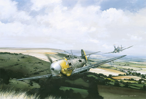 The Chase - Scenes of the Battle of Britain print