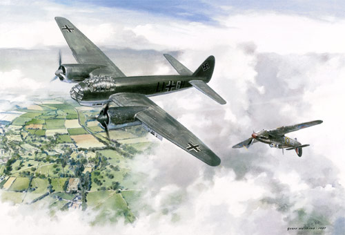 Moment in Time - Scenes of the Battle of Britain print