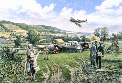 The Castle Farm Dornier - Limited Edition print